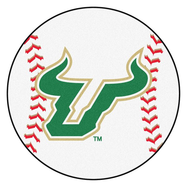 NCAA University of South Florida Baseball Mat by FANMATS