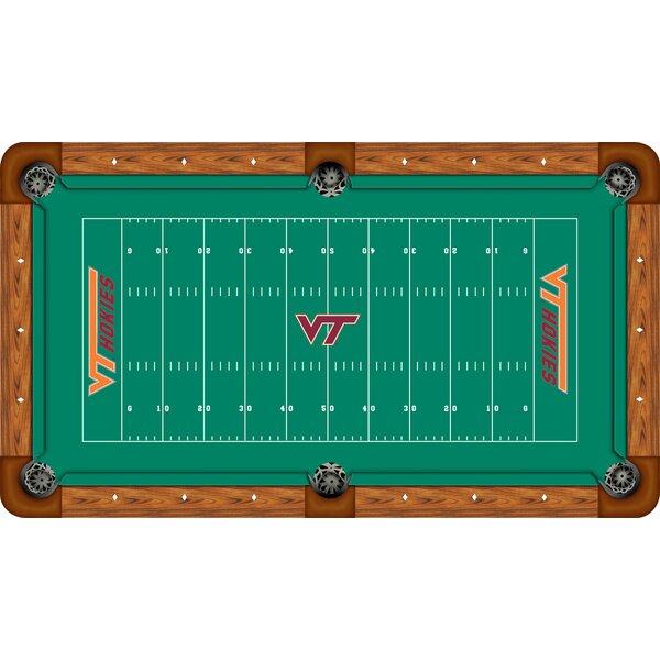 NCAA Football Field Recreational Billiard Table Felt by Wave 7