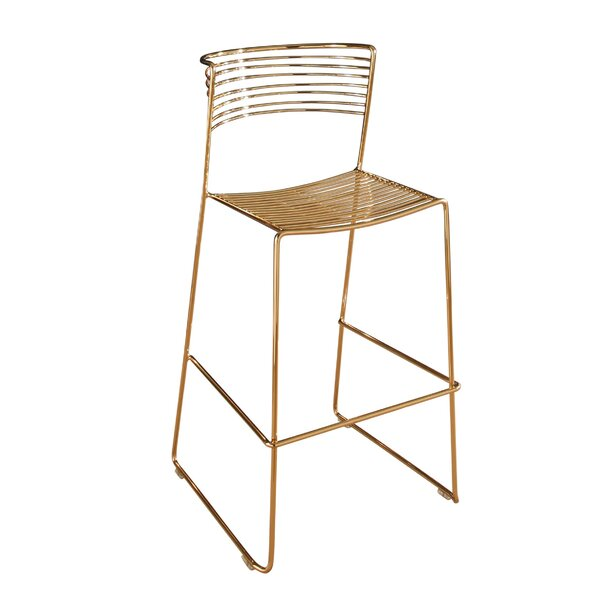 Robbie 29.5 Iron Bar Stool by Willa Arlo Interiors