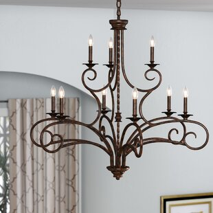 Find Brenda 9-Light Chandelier By Fleur De Lis Living