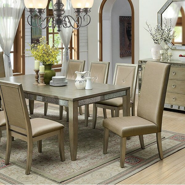Tristian 7 Piece Dining Set by Rosdorf Park
