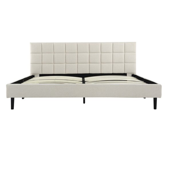 Winsett Upholstered Platform Bed Frame by Orren Ellis