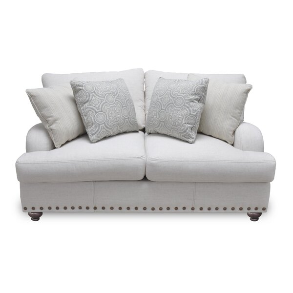 Valuable Brands Warfel Loveseat by Darby Home Co by Darby Home Co