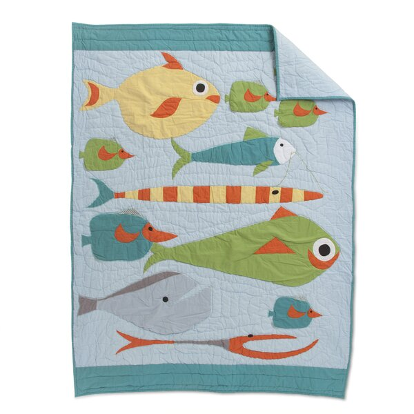 Fisher Baby Quilt by Amity Home