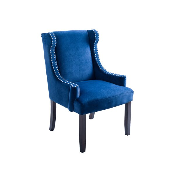 Arcola Wingback Chair By Mercer41
