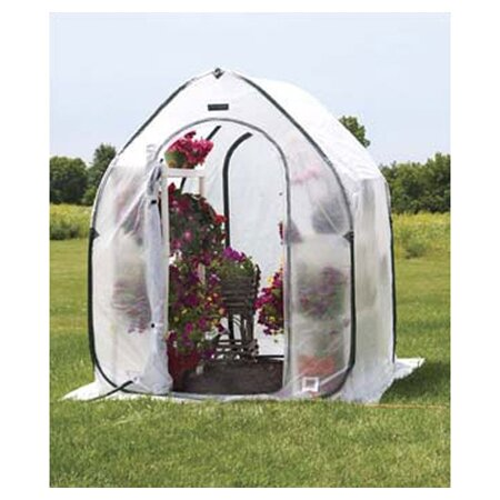 PlantHouse 5 Ft. W x 5 Ft. D Mini Greenhouse by Flowerhouse