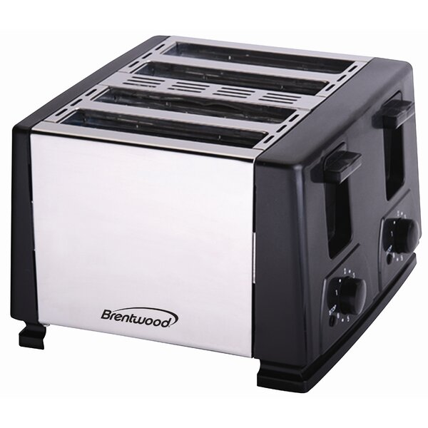 4-Slice Toaster by Brentwood Appliances