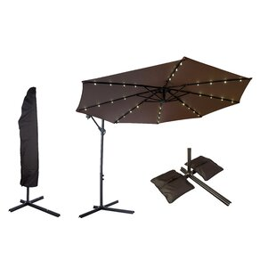Large Offset Patio Umbrellas | Wayfair