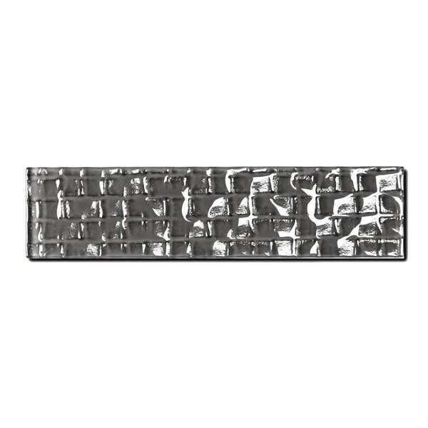 Metro 2 x 8 Glass Subway Tile in Urbansphere by Abolos