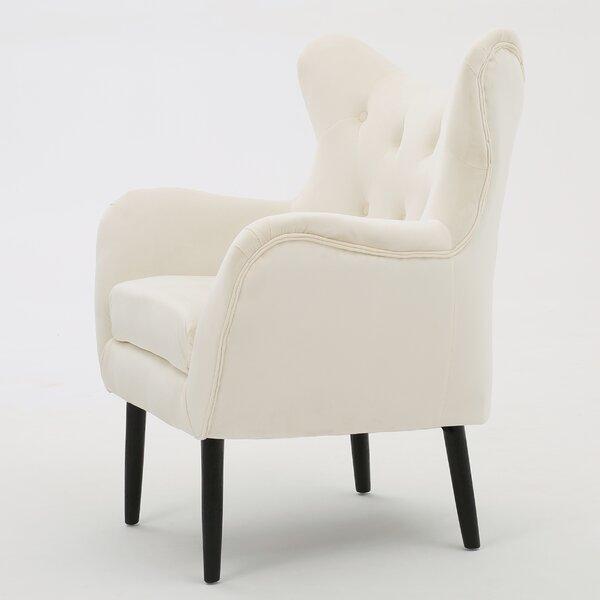 Bouck 21'' Wingback Chair by Willa Arlo Interiors Willa Arlo Interiors