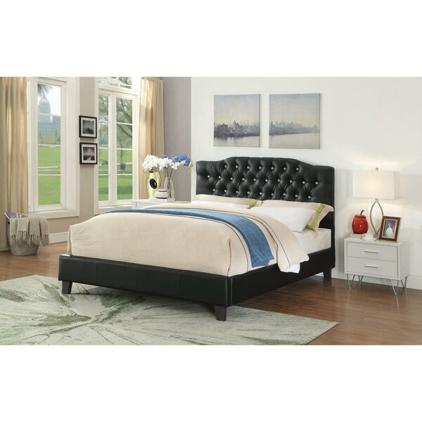 Messmer Queen Upholstered Platform Bed by House of Hampton