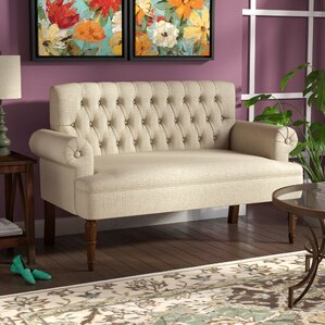 Buxton Tufted Upholstered Sofa/Settee