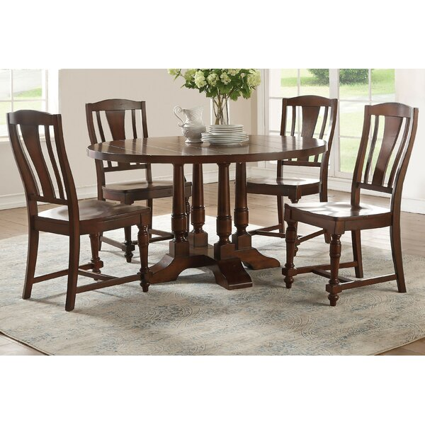 Lobos 5 Piece Round Dining Set by Canora Grey