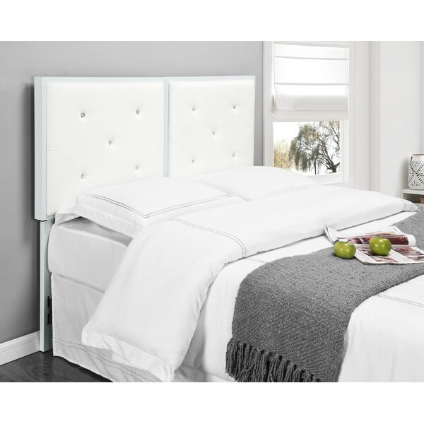 Upholstered Wingback Headboard by House of Hampton