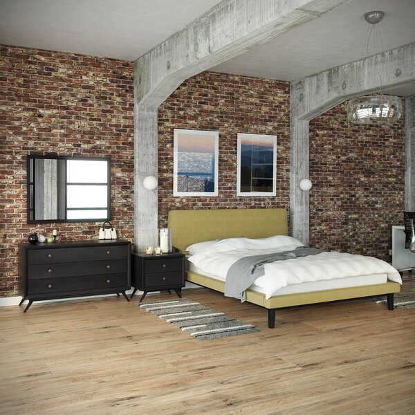 Bethany Queen Platform 4 Piece Bedroom Set by Modway