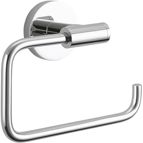 Brass Wall Mount Toilet Paper Holder by AGM Home Store