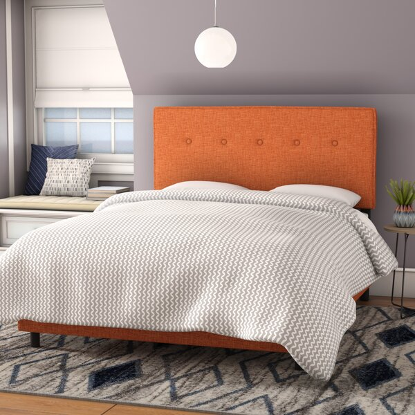 Gowen Upholstered Standard Bed by Brayden Studio