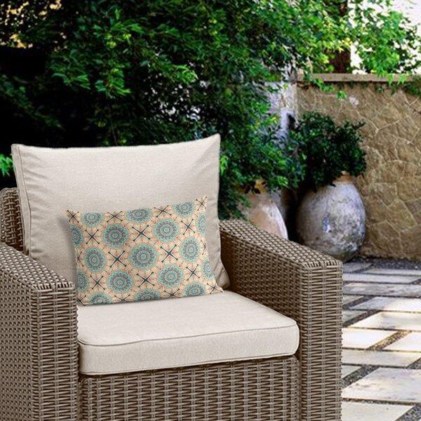 Alana Outdoor Lumbar Pillow by Bloomsbury Market