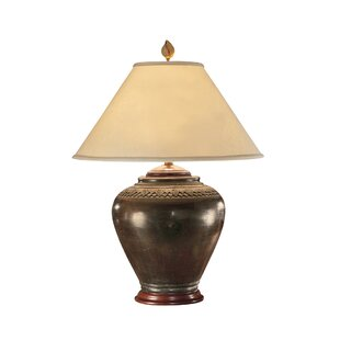 Online Reviews Carved Neck Pot 33 Table Lamp By Wildwood