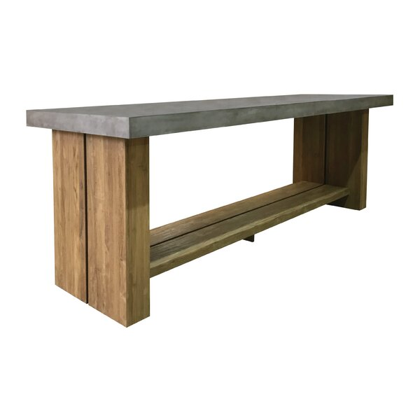 Mykonos Teak Bar Table by Seasonal Living