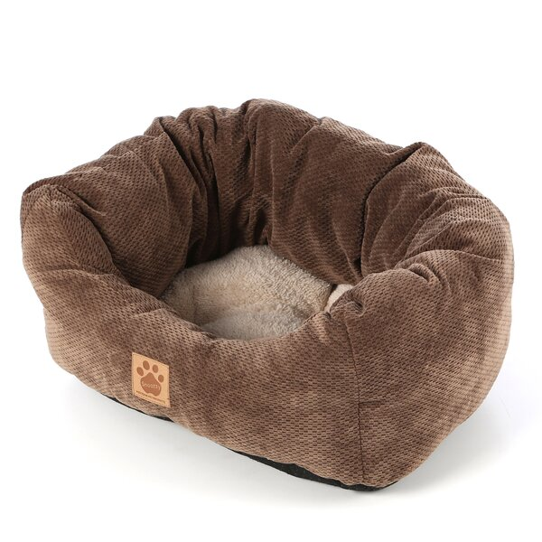 Maupin Spot Tailored Daydreamer Bolster Dog Bed by Tucker Murphy Pet