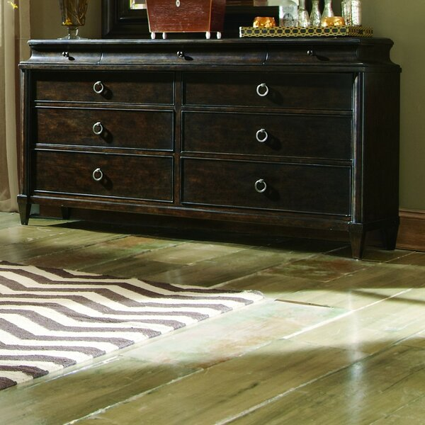 Roseville 9 Drawer Double Dresser by Canora Grey