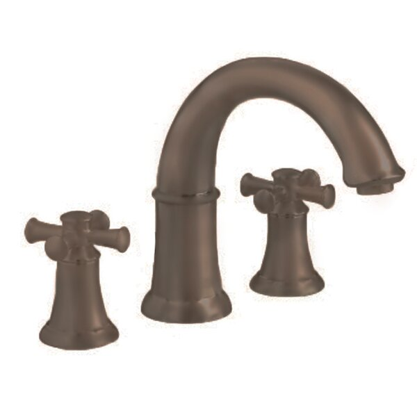 Portsmouth 2 Cross Handle Deck Mount Roman Tub Faucet by American Standard