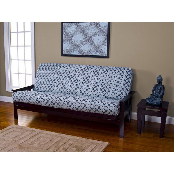 Araujo Zipper Box Cushion Futon Slipcover by Latitude Run