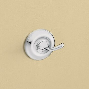 Madison Wall Mounted Double Robe Hook by Moen