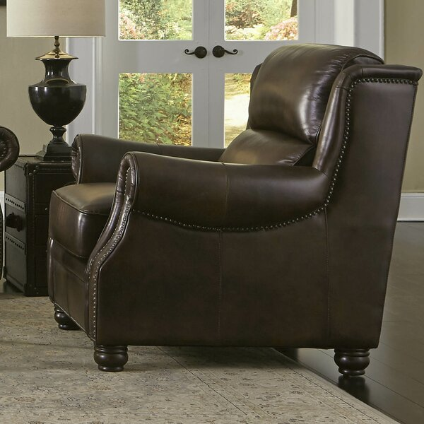 Appalachian Chair and a Half by Lazzaro Leather