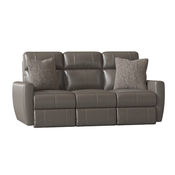 Latest Collection Knockout Leather Reclining Loveseat by Southern Motion by Southern Motion
