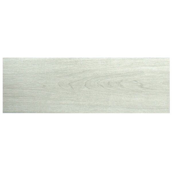 Sebastian 7.88 x 23.63 Ceramic Wood Tile in Gray by EliteTile
