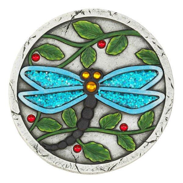 Luro Dragonfly Garden Stepping Stone by Winston Porter