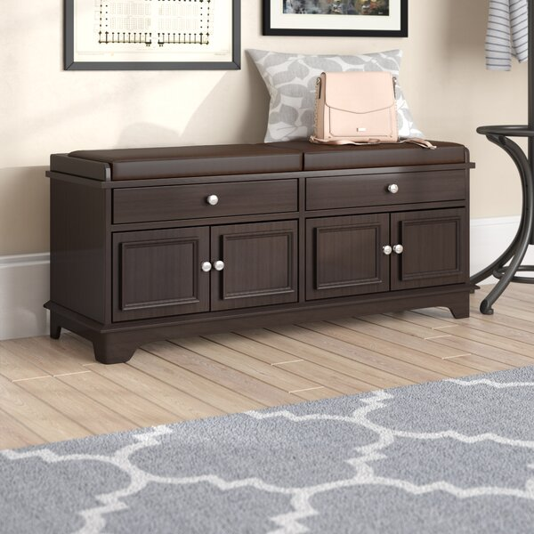 Penbrook Upholstered Storage Bench by Charlton Home