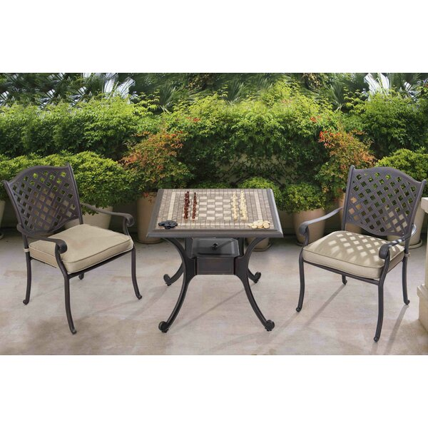 32 Greenhill Chess Table Set by Darby Home Co