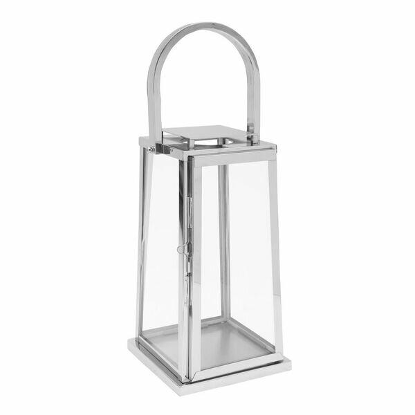 Square Stainless Steel Lantern by Orren Ellis