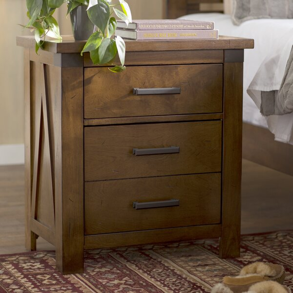 Cergy 2 Drawer Nightstand by Loon Peak