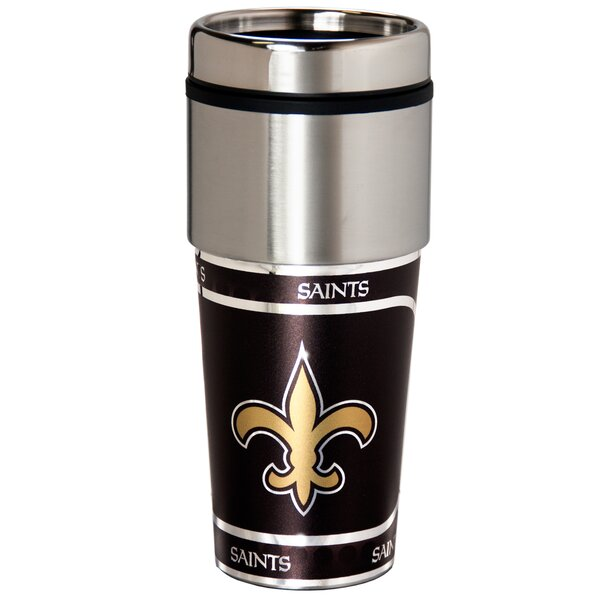 NFL Stainless Steel Travel 16 oz. Insulated Tumbler by Team Pro-Mark