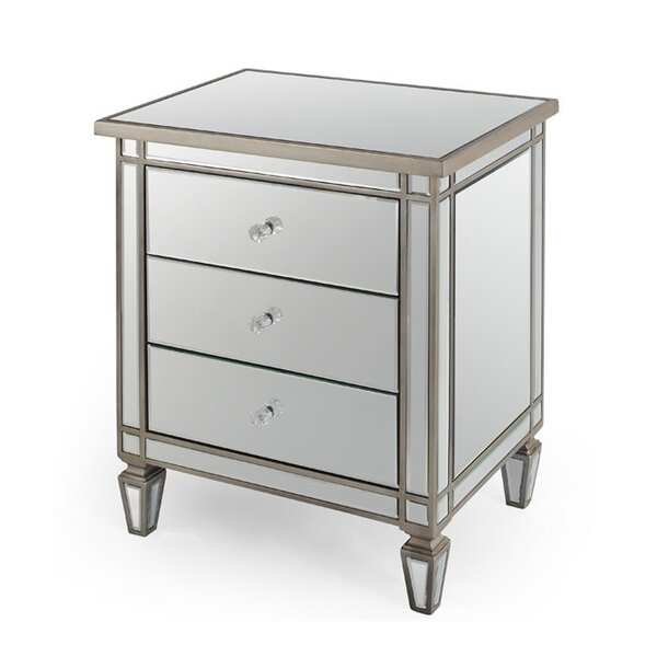 Liberty Street 3 Drawer Nightstand by Rosdorf Park