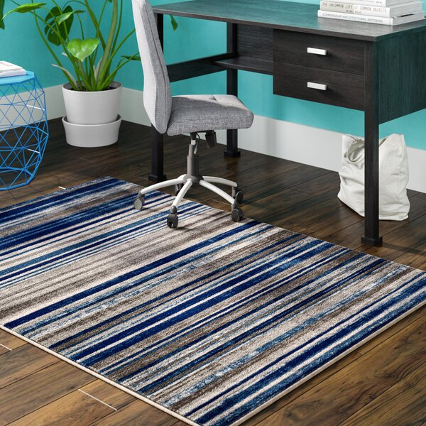 Langley Blue Area Rug by Zipcode Design