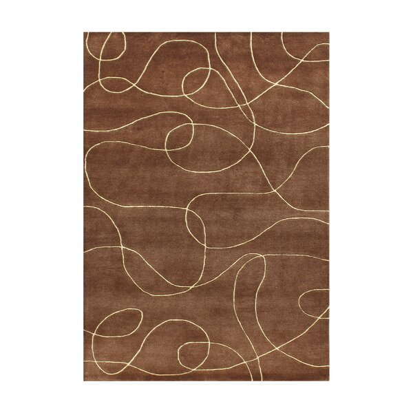 Alliyah Brown Area Rug by James Bond