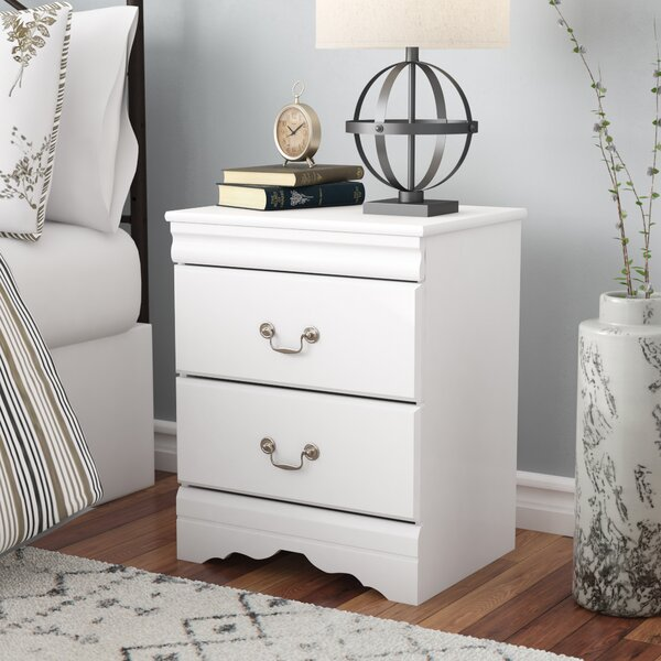 Aeroome 2 Drawer Nightstand By Grovelane Teen by Grovelane Teen 2020 Sale