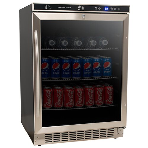 5.1 cu. ft. Beverage center with Freezer by Avanti Products