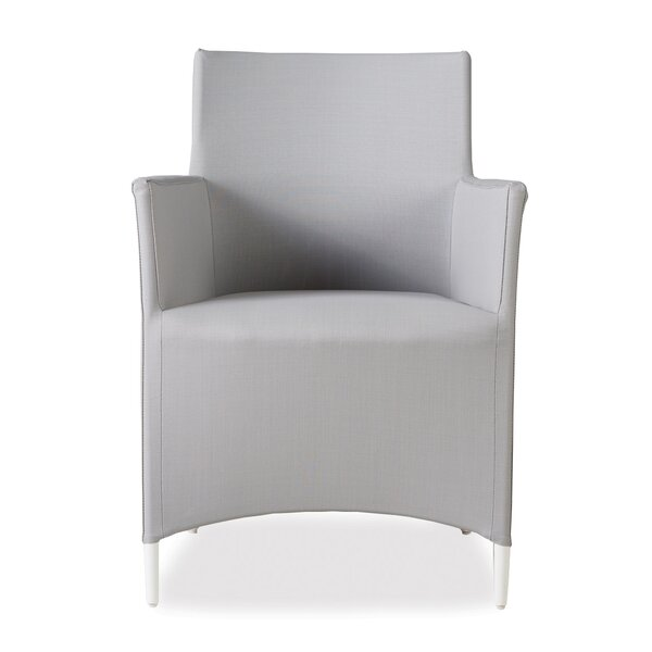 South Beach Teak Patio Dining Chair by Lloyd Flanders