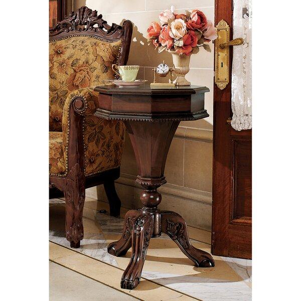 Pembroke End Table by Design Toscano