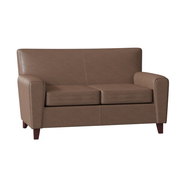 Find the perfect Gormley Leather Loveseat by Klaussner Furniture