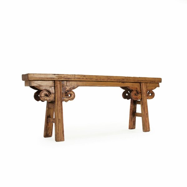 Warren Story Bench by Darby Home Co