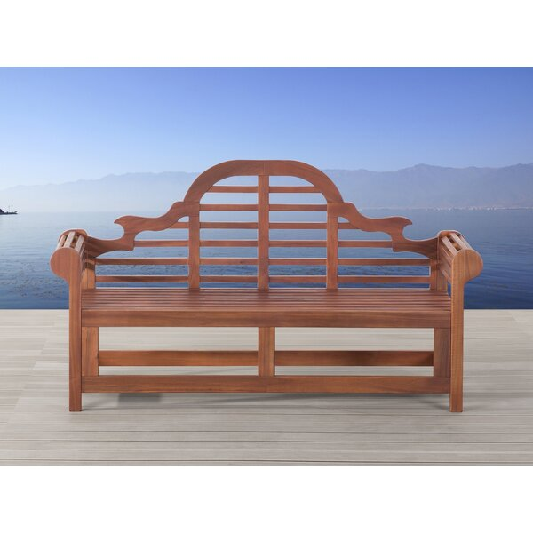 Shelbie Wooden Bench by Home & Haus
