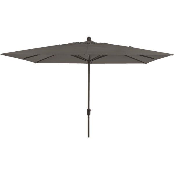 Alexander 10' X 6.5' Rectangular Market Umbrella by Longshore Tides