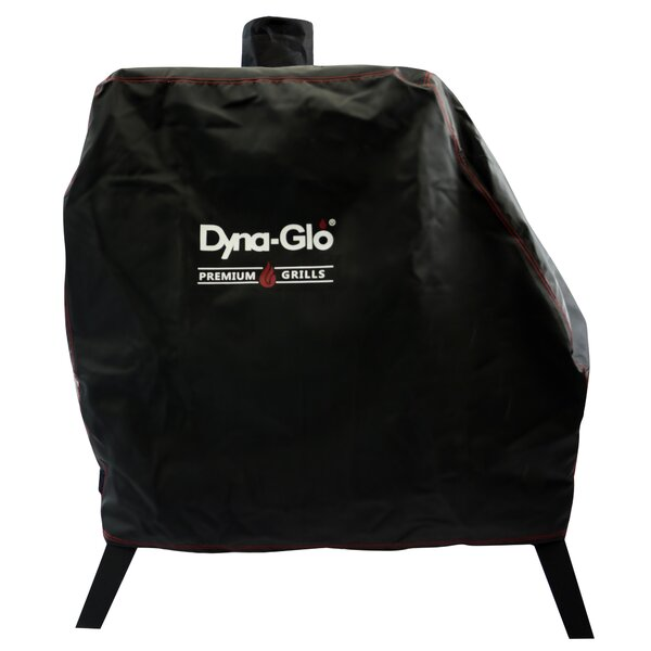 Premium Vertical Offset Smoker Cover - Fits up to 43 by Dyna-Glo